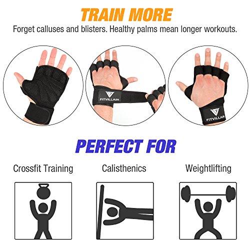 Zoom IMG-3 fitvillain guanti per crossfit palestra