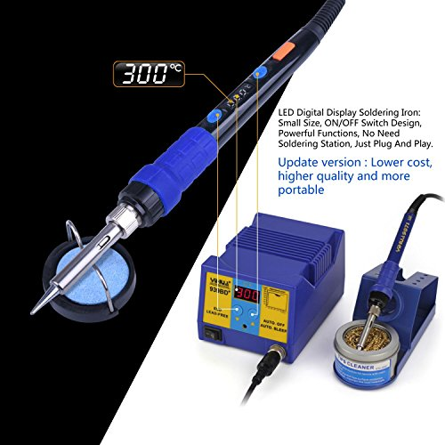 ET005 ETEPON Pirograbador de Madera 48 Piezas Temperatura Ajustable 200-450℃ 60W