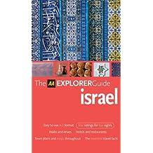 AA Explorer Israel (AA Explorer Guides)