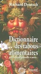 Dictionnaire des tabous alimentaires