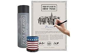 Happylandgifts® Véritable pièce de base New York unique pour les fans de New York et des États-Unis | Cadeau idéal pour la fête des mères