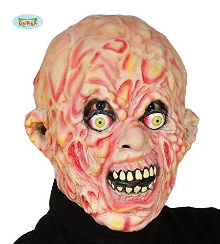(Enter-Deal-Berlin HALBMASKE - BRANDWUNDEN -, verbrannter verbranntes Gesicht Horror Masken Zubehoer Accessoires)