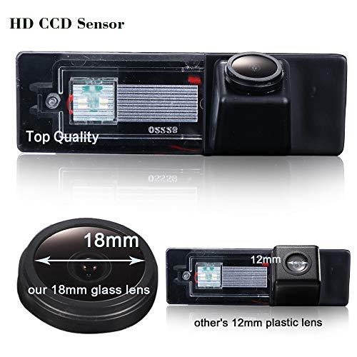 Navinio Auto Rückfahrkamera Einparkkamera Kamera für BMW 1 Series 120i E81/E87/F20/135i/640i/116i/Z4 E89 Mini Clubman Convertible Countryman Couper R55 R57 R60 R55N R56N R57N Cooper R50 R52 S R53 R56