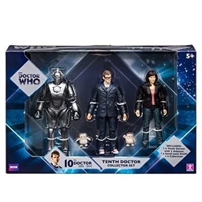"""Doctor Who 5"""" Figures - 10th Doctor 3-pack"""