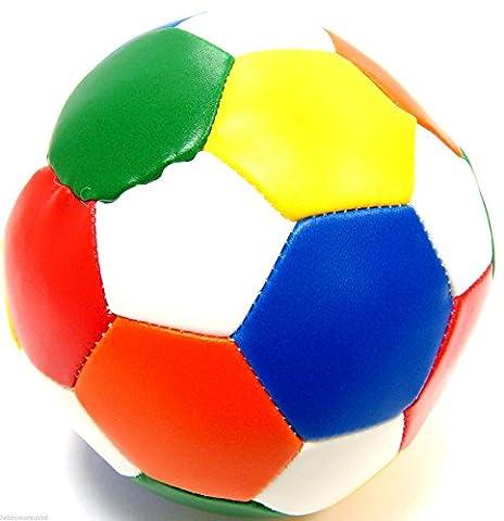 Coloured Soft Play Ball Sponge Ball Lightweight Football Soft Indoor Soccer Ball by Ackerman