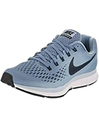 Nike Women's Air Zoom Pegasus 34 Running Shoe Blue (7.5), Wolf Blue/Black/Ice Blue/White, 38.5 B(M) EU/5 B(M) UK