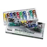 Winsor & Newton Winton Oil Colour Paint Starter Set 10 x 37ml
