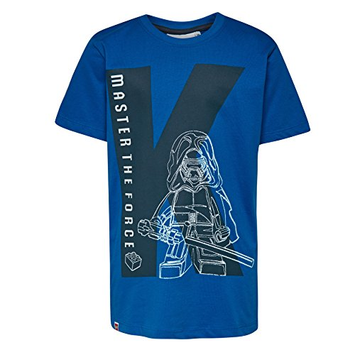 LEGO Wear Jungen T-Shirt Boy Star Wars M-72660, Blau (Blue 541), 134 - Star Wars Für Kids