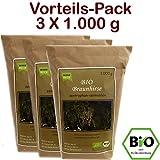BIO Braunhirse Gemahlen | VORTEILSPACK (3 x 1.000 g) | Vom Biohof Beck | Kalt-Vermahlen | Wildform | Urhirse