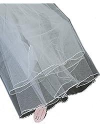 Élégant voile de mariéee en tulle à 2 épaisseurs. Produit offert par NYfashion101.