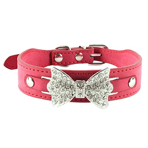 etosell-collier-a-boucle-en-faux-cuir-arc-a-strass-3-couleurs-pour-chien-xs-s-m-moyenasie-rouge