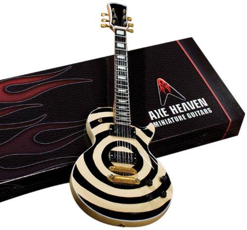 Axe Heaven–Guitarra en miniatura les paul Bulleyes Zakk Wylde