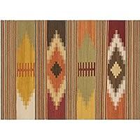 Vilber Bohemian Kilim 2576 Alfombra, Vinilo, Multicolor, 153x230x0.2cm