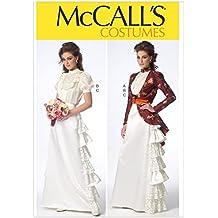Mccall's Patterns MC7071E5 - Patrón de costura de vestido de época