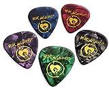 Rise Against 5 X Loose Gitarre Plektren Mixed Pearl ( GHF )