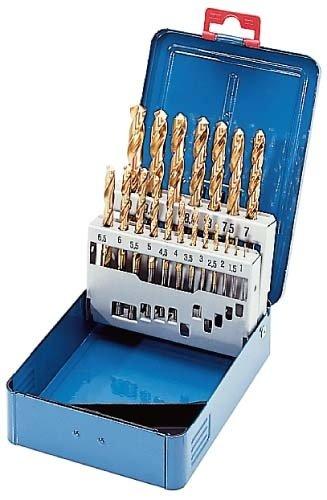 ORION BROCA ESPIRAL HSS TIN 6 0 - 10 0 ALREDEDOR DE 0 1 (DE 11031) EN MALETIN DE METAL