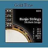 Cuerdas Banjo 5cuerdas–Medium–Gold Tone BSM