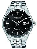 Citizen Herren-Armbanduhr Analog Quarz Edelstahl BM7251-88E