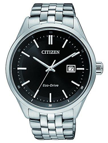 Citizen Hombre Reloj de Pulsera analógico Cuarzo Acero Inoxidable bm7251–88E