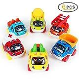LUKAT Baby Spielzeug Spielzeugauto Pull Back Autos Baby Spielzeug Auto Spielzeug 1 2 3 Jahr