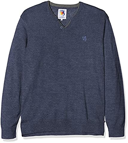 CBK 570268GT Pull Homme, Marine Chiné, FR : 4XL (Taille