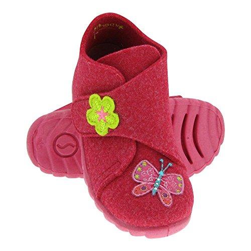 De Sapatos Lã Sentiu Gallux Velcro Chinelos Rosa Meninas Meninos Sapatos Doce qWqwIgROHv