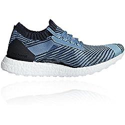 adidas Ultraboost X, Zapatillas de Entrenamiento para Mujer, Gris Rawgre/Carbon/Legink, 41 2/3 EU
