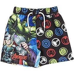 Marvel - Bañador - para niño Avengers & Logos 7-8 años