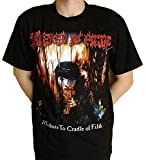 Cradle of Filth T-Shirt Verdeckt in Filth (A Tribute to c.o.f.) Gr. Medium, schwarz
