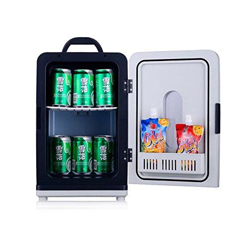 RY Auto Kühlschrank - 18L Auto Kühlschrank Portable Cold Box Gefrierschrank Mini Kühlschrank und Wärmer Miniatur Haushaltskühlschränke Student Dormitory (Farbe : Dual Core)