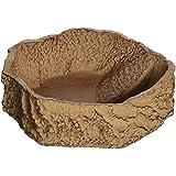 JBL 71085–biberon, Bere e Bagno Ciotola per Animali da terrario Rettile Bar, Grande, Sabbia