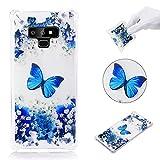 Cozy Hut Samsung Galaxy Note 9 Hülle, [Ultra Hybrid] Luftpolster-Technologie [Crystal Clear] Einteilige Transparent Handyhülle Durchsichtige PC Rückschale mit Silikon TPU Slim Bumper Schutzhülle
