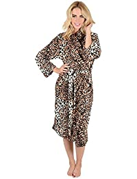 Ladies Coral Fleece Super Soft Thick Luxurious Bath Robe Dressing Gown Wrap  Housecoat Bathrobe e298b481b