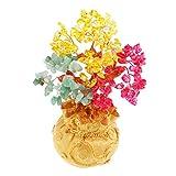 Baoblaze 1 Stück Harz Geldbaum Lebensbaum Dekoration Money Tree für Reichtum Glück - Tricolor