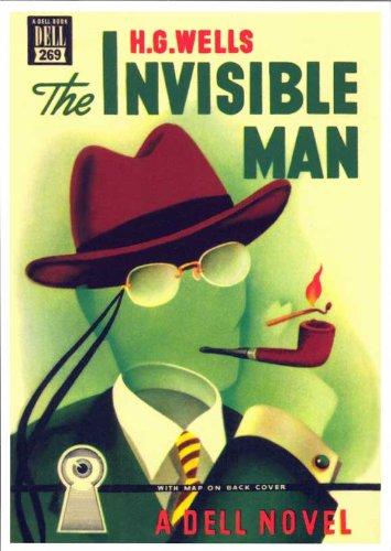 Invisible Man 11 x 17 Retro Book Cover Poster