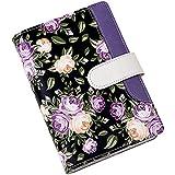 A6diario taccuino con copertina rigida confezione personal Binder divertente in pelle, ricaricabile per ragazze A6 purple