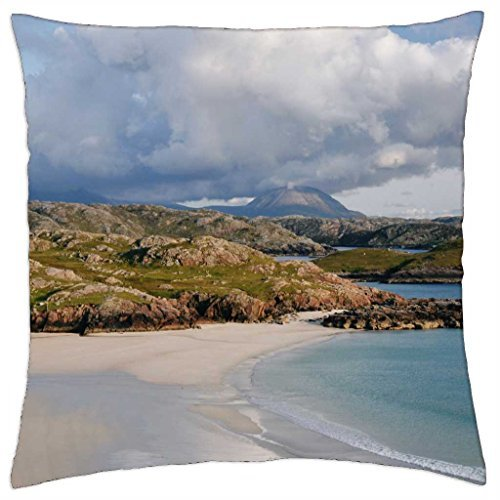 polin-beach-kinlochbervie-scotland-throw-pillow-cover-case-16-x-16