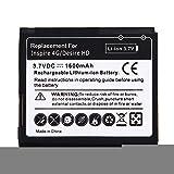 JINYANG Batterie exquise pour téléphone Portable Batterie pour HTC Desire HD (Noir)