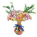 Eizur-DIY-Boutons-Fleur-Artificielle-Bouquet-Domicile-Bureau-Dcoration-Artisanat-Fil-de-fer-Bouton-Jouets-Intelligence-pour-Enfants-Color