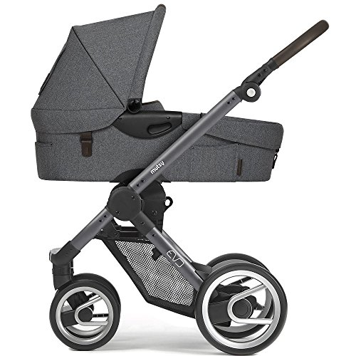 Mutsy Kinderwagen EVO - Farmer fishbone dawn / blue-grey - Modell 2017
