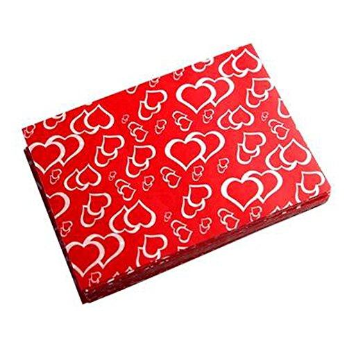 Schöne Süßigkeit Wrappers Süßigkeit Pergamentpapier Twisting Wachspapiere, NO.28