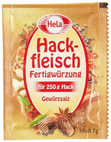 Hela Hackfleisch-Würzung, 25er Pack (25 x 5 á 7 g Beutel)