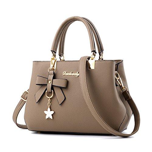 Magic Zone Damen Handtaschen Fashion Handtaschen für Frauen PU Leder Schulter Taschen Messenger Tote Taschen