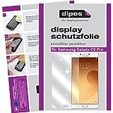 dipos I 2X Schutzfolie klar passend für Samsung Galaxy C9 Pro Folie Displayschutzfolie
