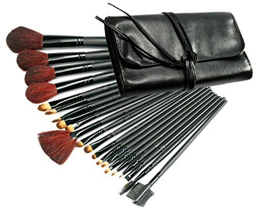21 PCS Pinceaux Cosm¨¦tiques/Trousse ¨¤ Maquillage Professionnel/Makeup Brush Set