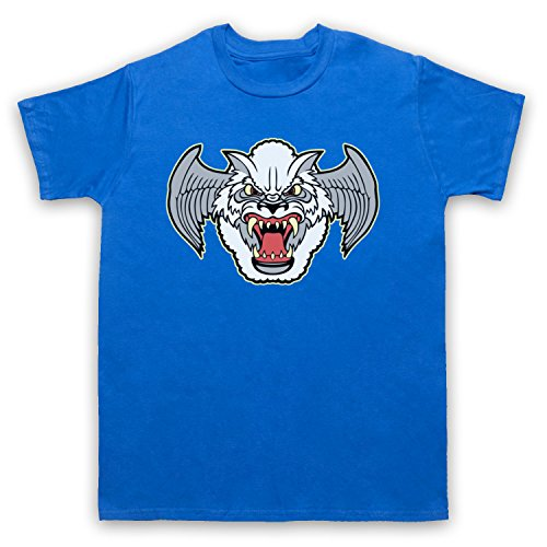 Inspiriert durch Airwolf Badge Logo Unofficial Herren T-Shirt Blau