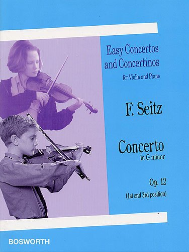 Friedrich Seitz: Concerto in G Minor for Violin and Piano Op.12