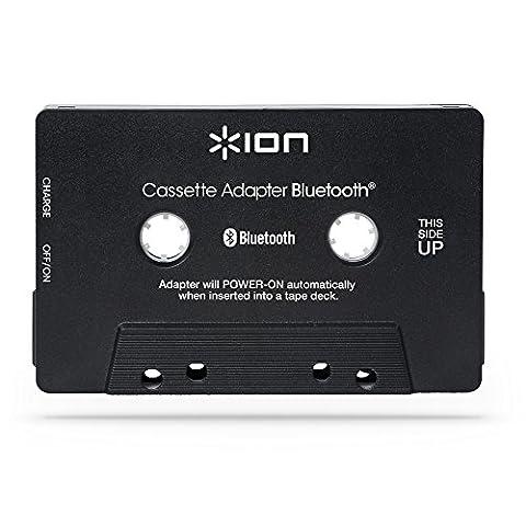 ION Audio Cassette Adapter Bluetooth Récepteur Bluetooth en forme de cassette avec batterie rechargeable