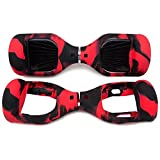 """Best Power Scooter - Red & Black Silicon Case For Classic 6.5"""" Review"""