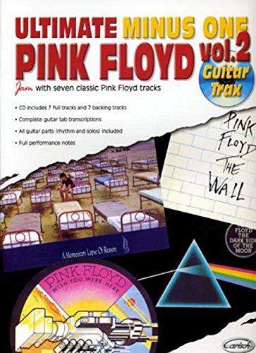 Ultimate Minus One - Pink Floyd - Vol 2 - Guitar - Sheet Music Book + CD